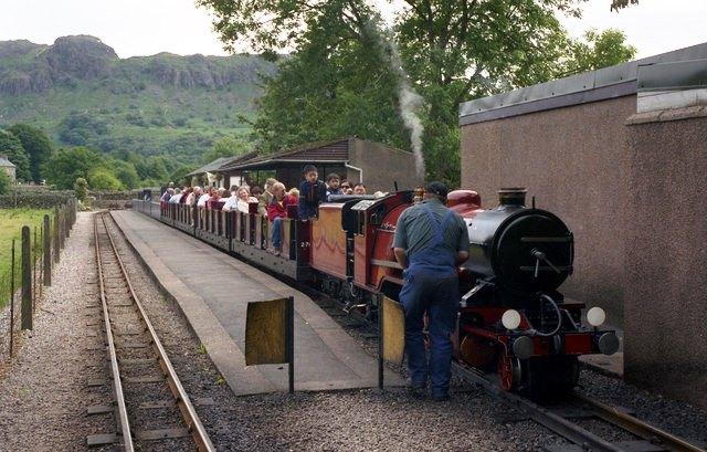 Ravenglass & Eskdale - Dalegarth Station