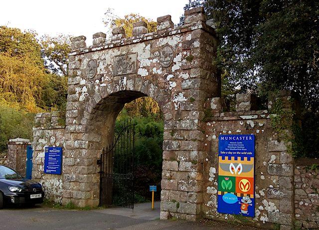 Gateway to Muncaster Castle